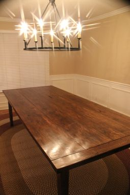 Custom Made 9ft Custom Farm Table