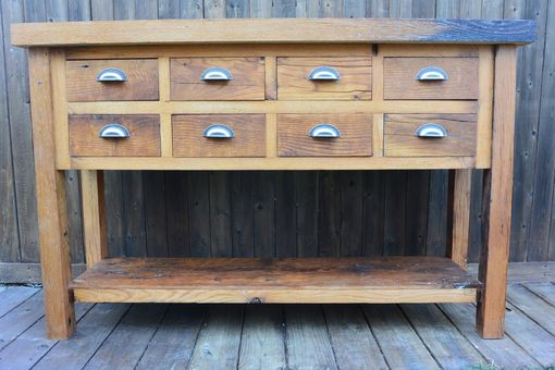 Custom Made Reclaimed White Oak Sideboard