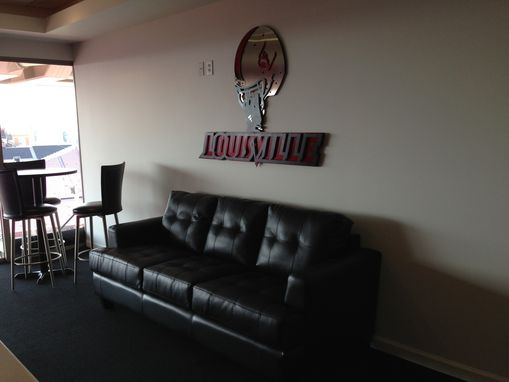 Custom Made University Of Louisville Corporate Sign