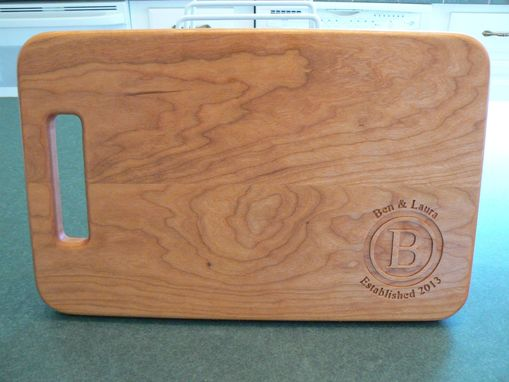 Custom Made Personalized Cutting Boards - Engraving / Monogram