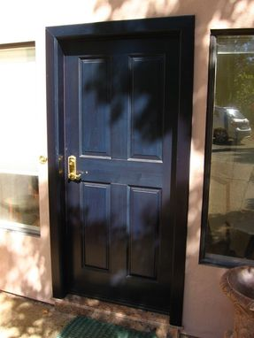 Custom Made Custom Wooden Door #6
