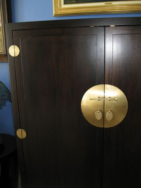 Custom Made Oriental Armoire