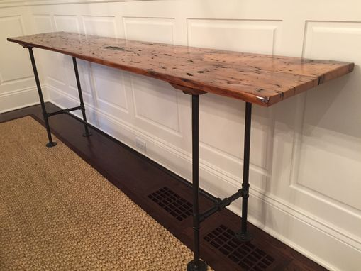 Custom Reclaimed Barnwood Console Table By John Gaines