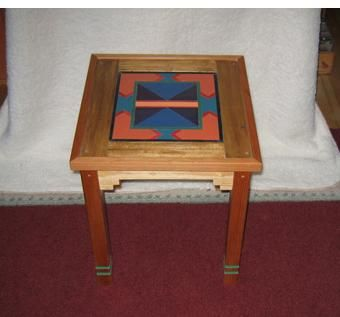 Custom Made Southwest Accent Table