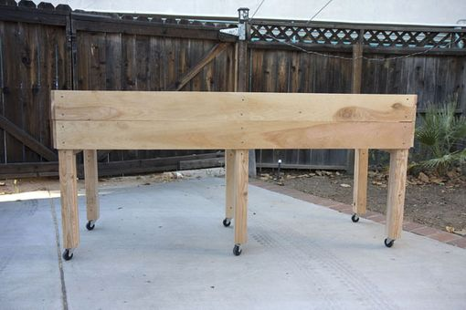 Custom Made Portable Elevated Planter Box