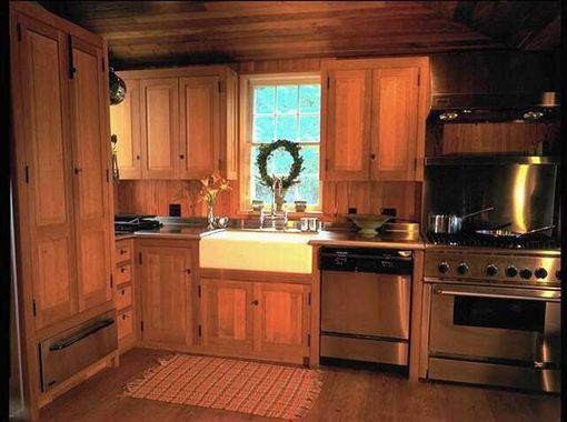 Custom Made Quarter-Sawn White Oak Kitchen by W D Bosworth ...