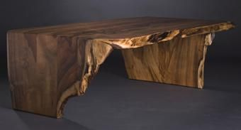 Custom Made Natural (Live) Edge Coffee Table