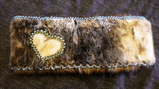 Custom Made Seal Skin Headband With Sea Otter Lining