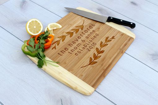 Custom Made Personalized Cutting Board, Engraved Cutting Board, Custom Wedding Gift – Cb-Bam-Haverford