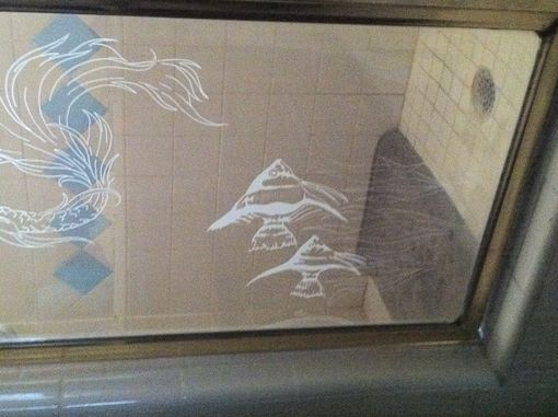 Custom Made Glass Etching