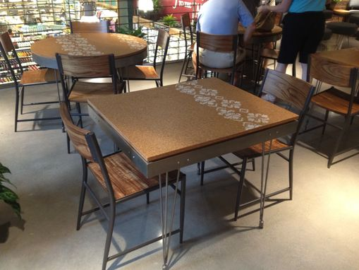 dining room furniture cork | Custom Made Cork Top Table by 2nd Story Wood Co ...