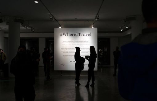 Custom Made 30 Framed Instagram Photo Prints For Everlane's #Whereitravel Gallery Show