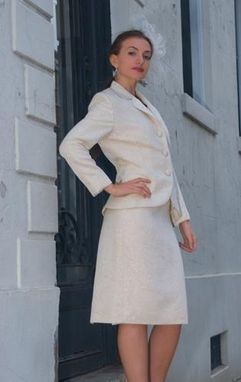 Custom Made Wedding Or Special Occasion Dress And Jacket Ensemble