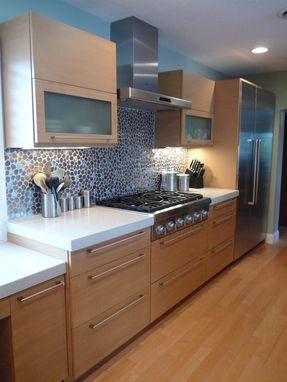 Custom Made Bamboo Kitchen (Faux)