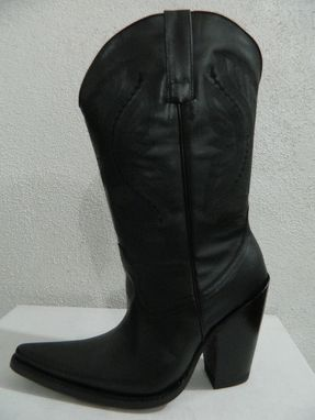 Custom Made Mens High Heel Cowboy Boots Up To 5 Inch High