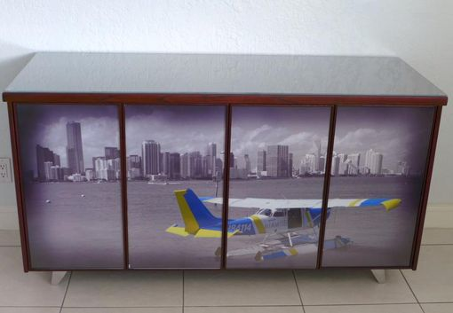 Custom Made Photofinish Cabinet (Photo Exchangeable)