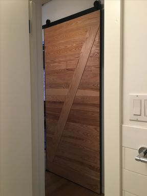Custom Made Modern Barn Door