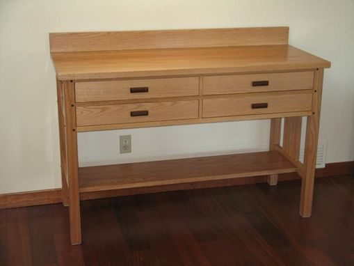 Custom Made Red Oak Sideboard
