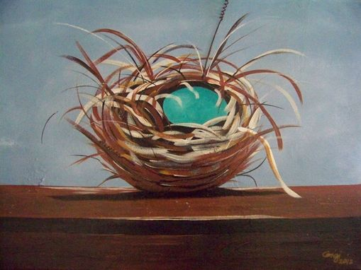 Custom Made Art - Robin's Nest