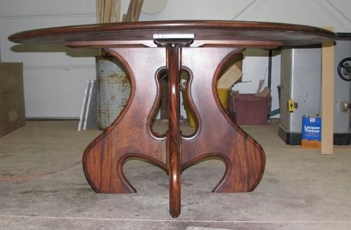 Phenomenal Custom Solid Mahogany 60 Round Dining Table Gmtry Best Dining Table And Chair Ideas Images Gmtryco