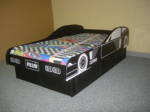 Custom Made Race Car Bed
