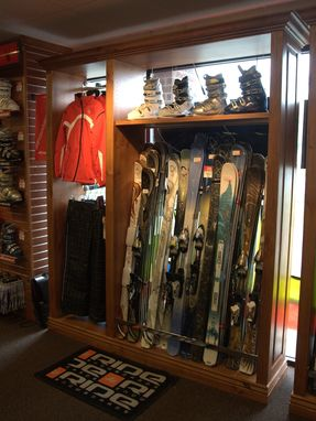 Custom Made Sea N Ski Display Racks