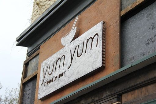 Custom Made Yum Yum Noodle Bar Sign