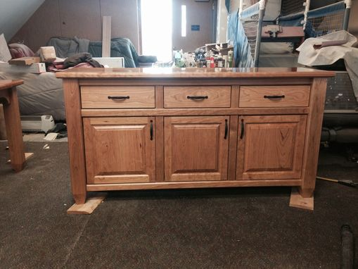 Custom Made Solid Cherry Sideboard