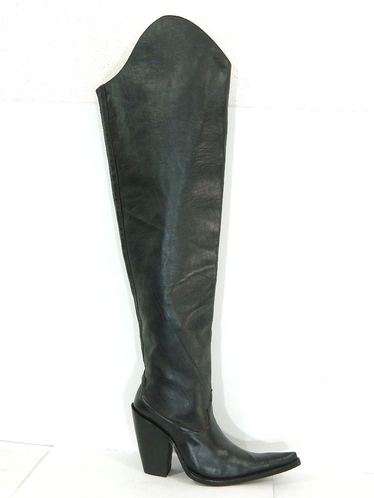 d546646d36c Custom Made Two Hieght Top Boots Extreme Sharp Toe And 5 Inch Heels ...