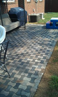 Custom Made Mixed Color Bowtie Patio.