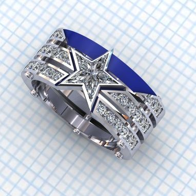 Custom Made Captain,  Americas Team Ring- Ladies