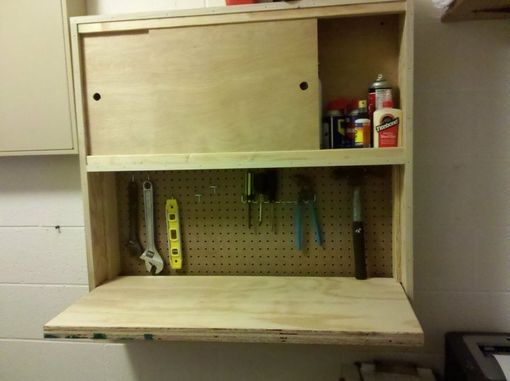 Custom Made Fold Down Work Desk
