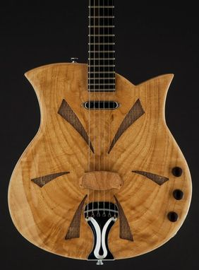 Custom Made Sold - The 'Carla' Spider Bridge Electric Resonator Guitar