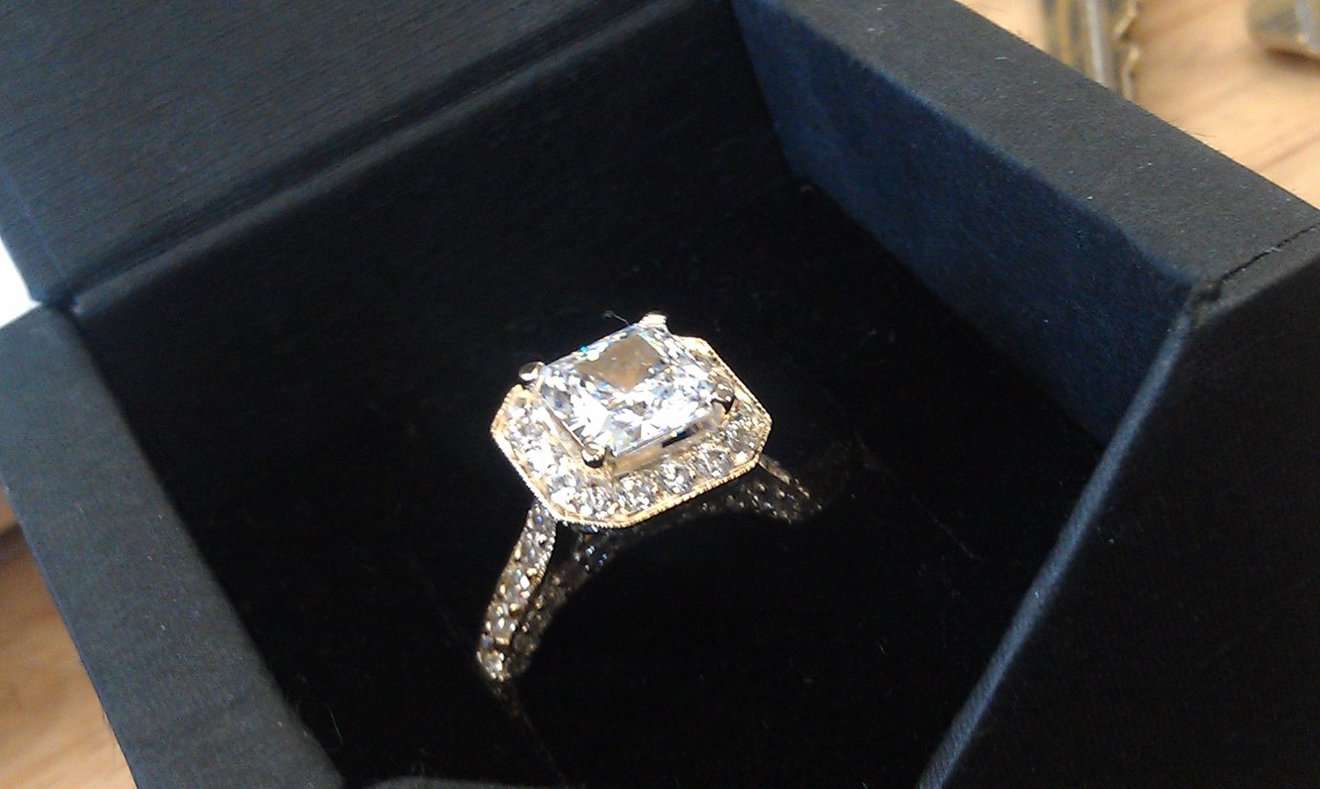 custom made high quality cubic zirconia engagement ring - High Quality Cubic Zirconia Wedding Rings