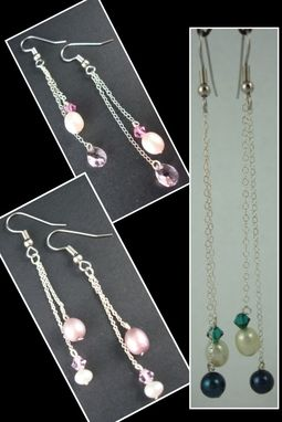 Custom Made Pearl Earrings