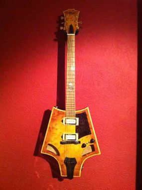 Custom Made Bat Wing Guitar