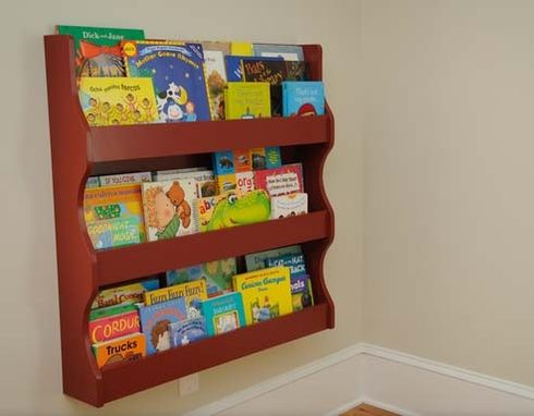 Custom Made Custom Kids Bookshelf