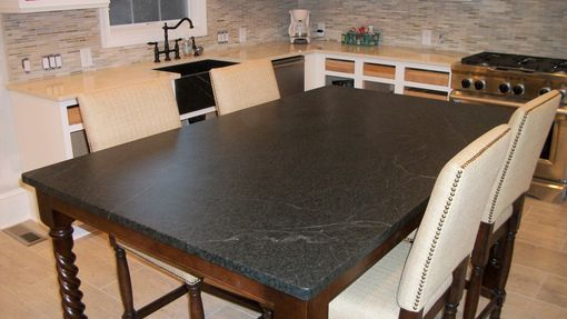 Custom Made Soapstone Table