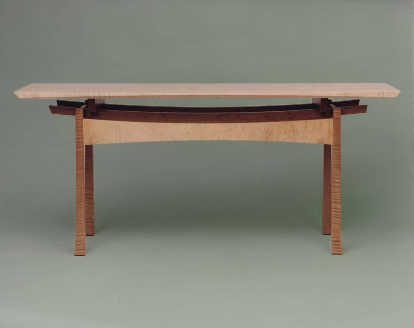 Handmade The Japanese Consul Console Table By Hartcorn