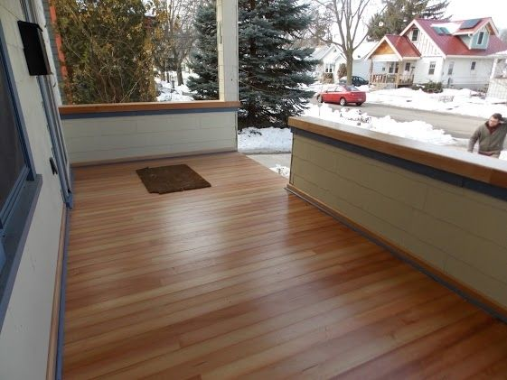 Custom Douglas Fir Porch And Rail By Perspective Design Build Custommade