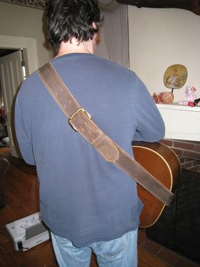 Custom Made Custom Guitar Strap.