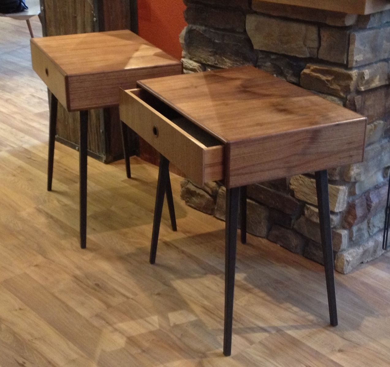 Hand Made Cloud End Table by Dovetail furniture company