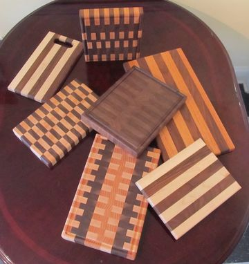 Custom Made Cutting Boards And Lazy Susan's