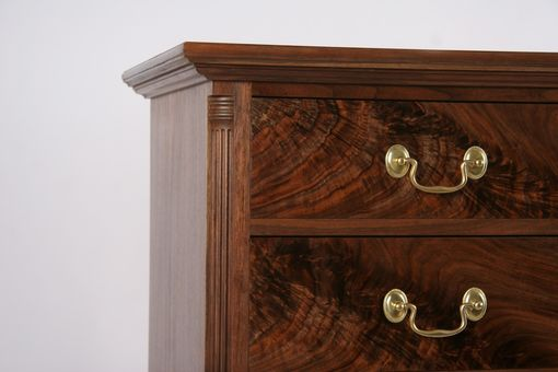 Custom Made Straight Front Bureau