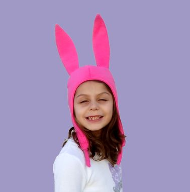 Custom Made Bunny Ears Hat.