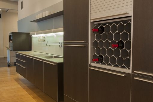 Custom Made Custom Winehive® Kitchen Cabinet Installations