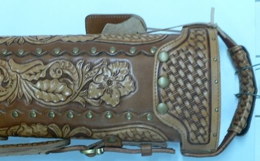 Custom Made The Gunslinger Leather Poolstick Case