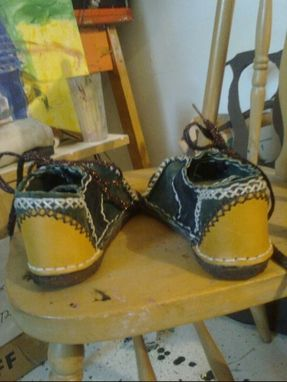 Custom Made Aztec Lo-Top Shoe