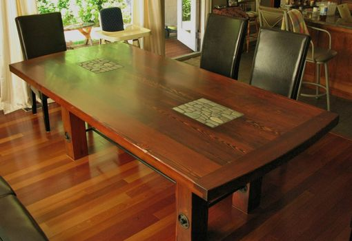 Custom Made Reclaimed Douglas Fir Dinning Tables