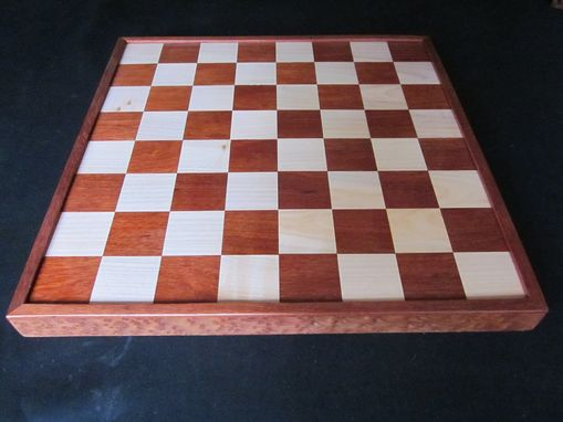 Custom Made Northwest Hardwood Chess Boards